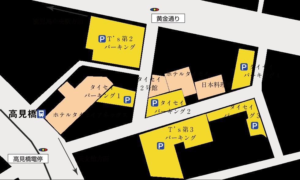 駐車場図大